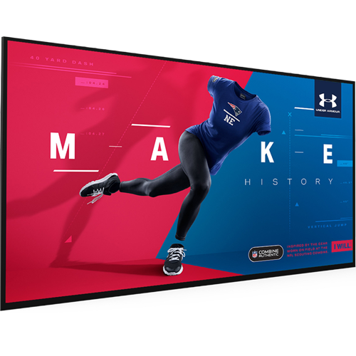 "55"" High Vibrance Android Advertising Display"