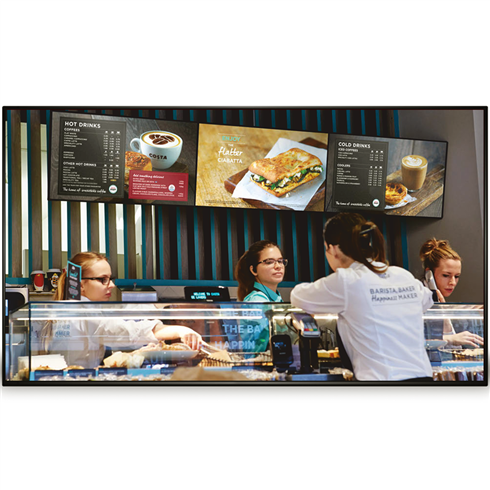 "43"" Network Digital Menu Board"