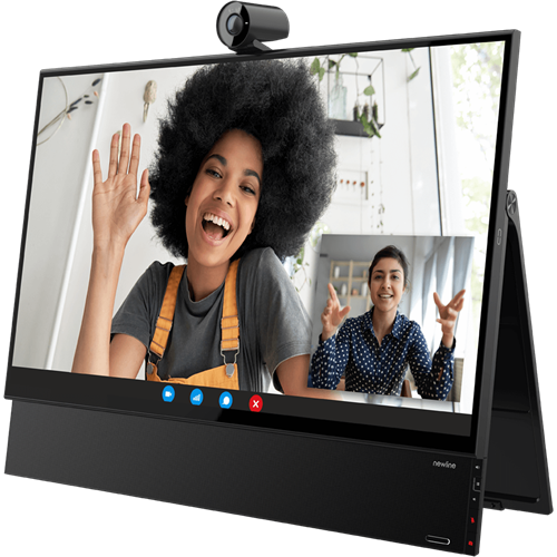 "Newline Flex 27"" Versatile All-In-One Touch Monitor Designed for Desktop Collaboration"