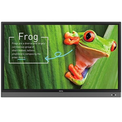 "BenQ 4K UHD 75"" Education Interactive Flat Panel Display"