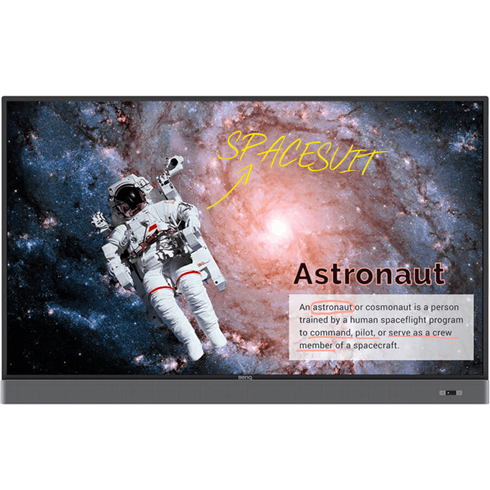 "BenQ RM7502K 4K 75"" Interactive Touch Screen + Free Wall Bracket"