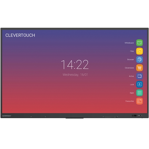 "Clevertouch® IMPACT 75"" 4K Touch Screens"
