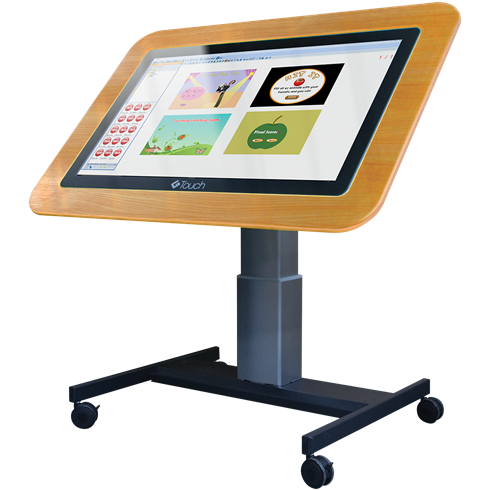 "Genee 42"" G-Touch Table with software included on High / Low Adjustable Stand"