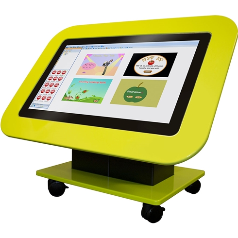 "Genee 42"" G-Touch Table with software included on Stand with lockable Castors"