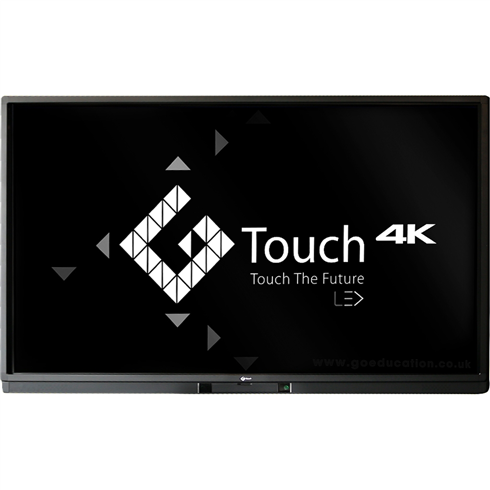 "Genee® 75"" 4K Interactive Display G-Touch Classic Screen includes Sparks II software site license + Free Wall Bracket"