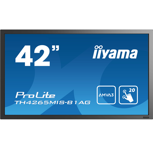 "iiyama ProLite TH4265MIS-B1AG 42"" Touch Screen FULL HD"