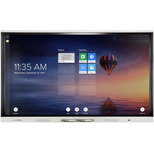"SMART Board MX275 75"" interactive display with iQ and SMART Learning Suite"
