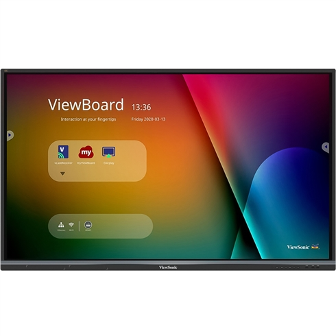 "ViewSonic ViewBoard® IFP6550-3 65"" 4K Interactive Screens + Free Wall Bracket"