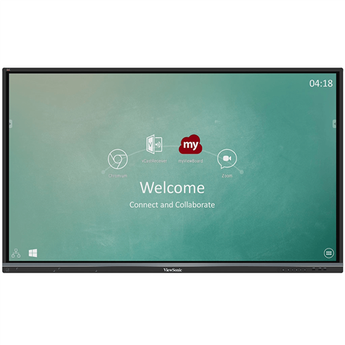 "ViewSonic IFP7550-2EP ViewBoard® 75"" 4K Interactive Touch Screens + Free Wall Bracket"