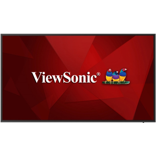 "ViewSonic CDE6520 65"" 4K Presentation Display"