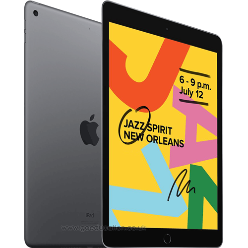 "iPad 2019 7th Gen 10.2"" Wi-Fi 32GB 