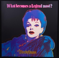 """Judy Garland Blackglama from the Ads Series, 1985"" by Andy Warhol"
