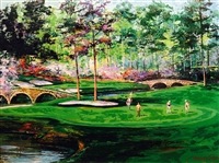 Amen Corner - Augusta National Golf Club