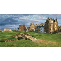 18th Hole, Swilcan Bridge, St Andrews