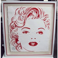 a Tribute to Marilyn Monroe (Red)