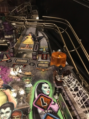 Assortment of Bats MOD (set of 3) for Stern's The Munsters pinball machine