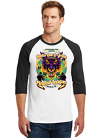 Beek's Bar & Grille Pinball League Baseball T-Shirt