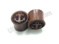 "Pair of ""Anchor"" Organic Plugs"