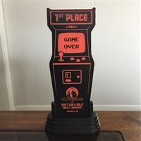 Custom Personalized LED Arcade Game Trophy Award