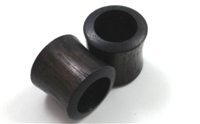 Pair of Black Arang Wood Tunnels