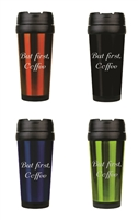 But First, Coffee 16 oz. Travel Mug