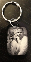 Custom Engraved Personalized Dog Tag (Necklace/Keychain- YOUR choice)