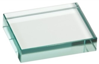 3 x 4 Jade Glass Paperweight