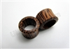 Pair of Coconut Wood Tunnel Plugs