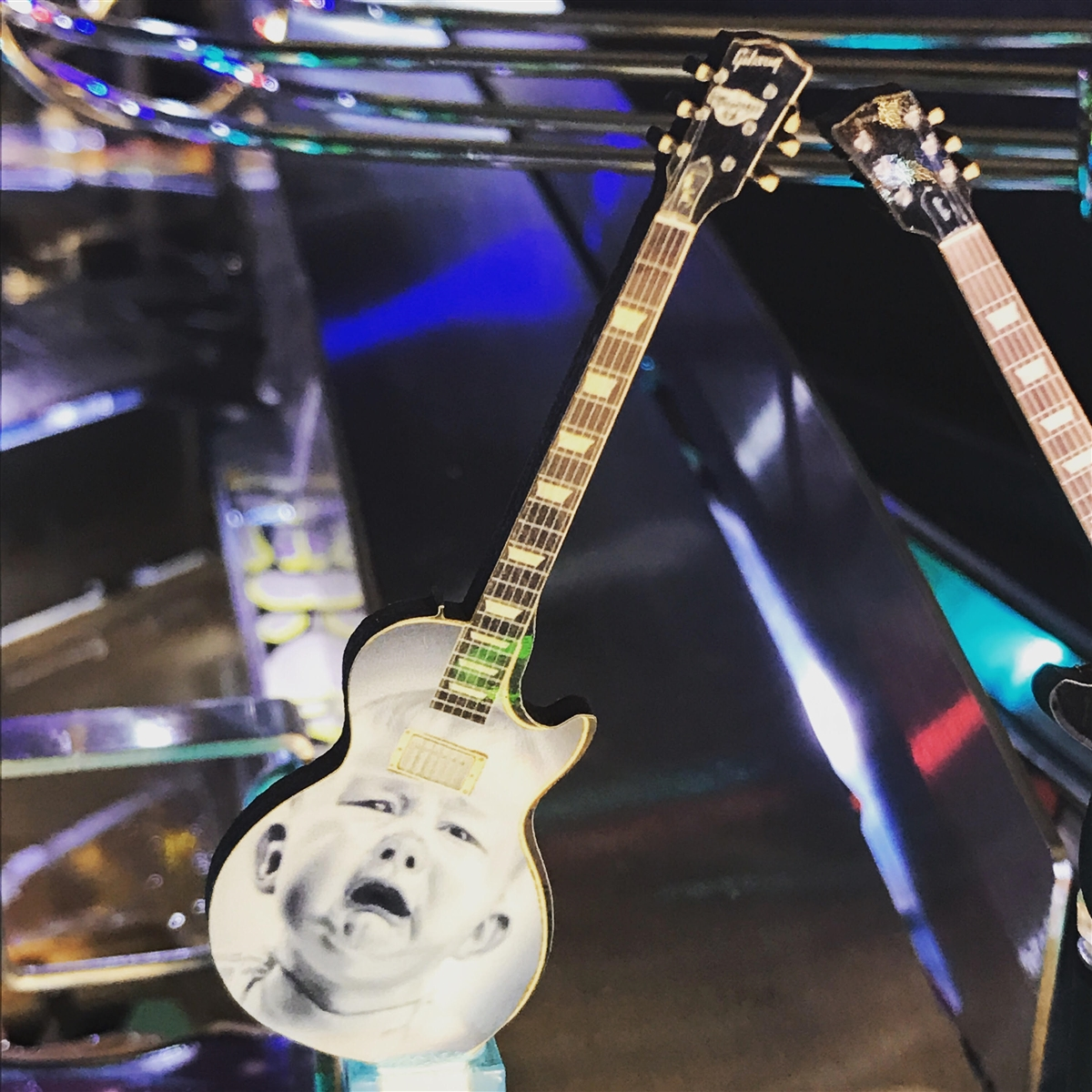 Custom Graphic Guitar MOD for any Music Themed pinball machine