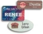 Full Color Personalized Name Badges - Name Tags - MADE TO ORDER