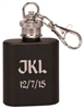 1 oz Personalized Flask Key Chain