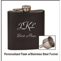 6 oz Personalized Flask