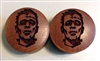 "Pair of ""Frankenstein"" Organic Plugs"