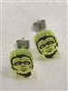 Frankenstein Color FX Earrings