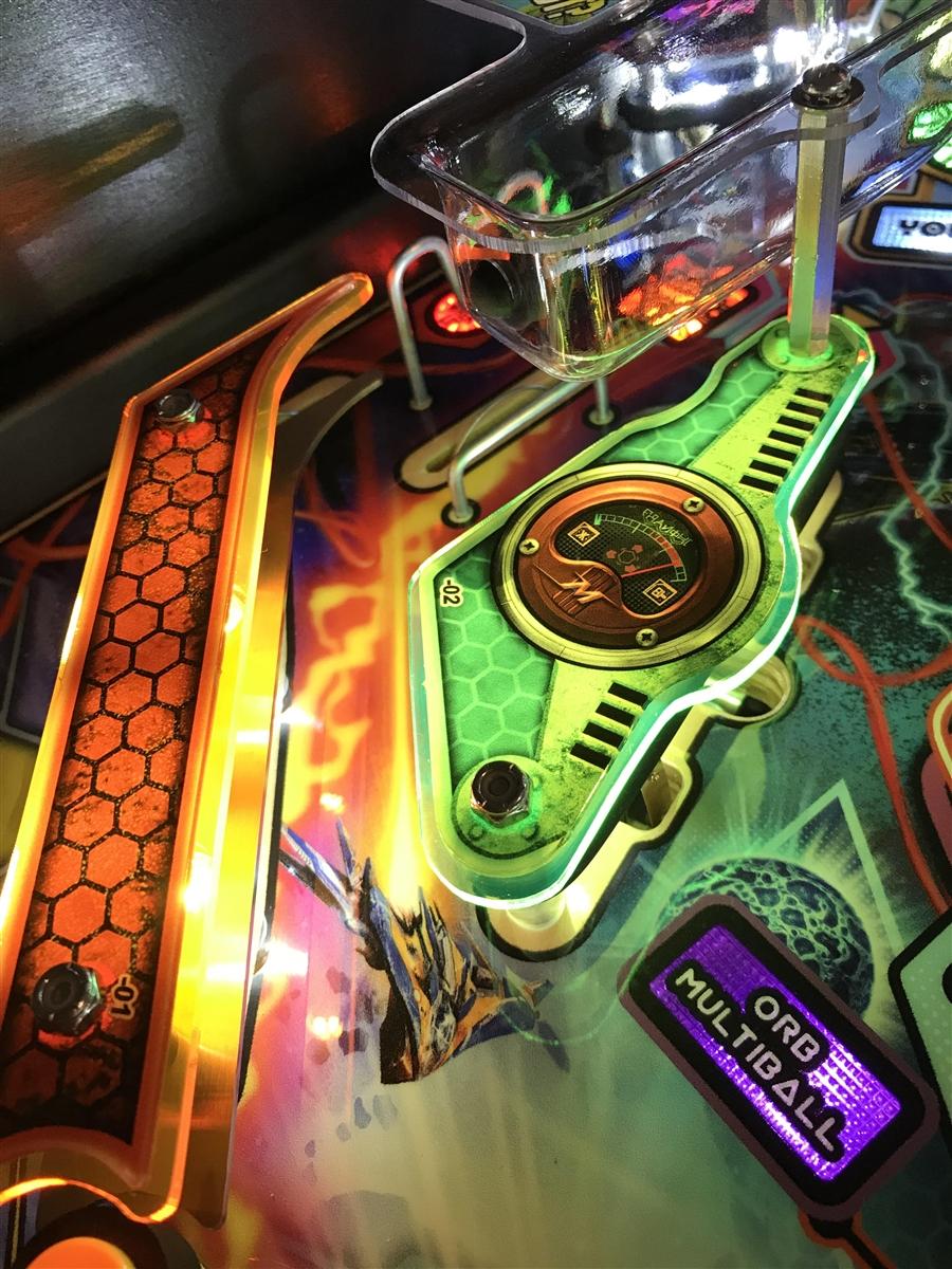 Fluorescent Slingshot & Return Lane Protector Set for Stern\'s ...