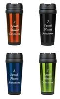 I Speak Fluent Sarcasm 16 oz. Travel Mug
