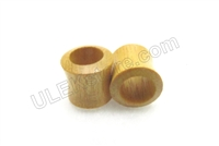 Pair of Jackfruit Wood Tunnel Plugs