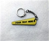 Personalized Pinball Flipper Bat Key FOB / Keychain