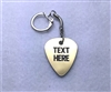 Personalized Guitar Pick Key FOB / Keychain