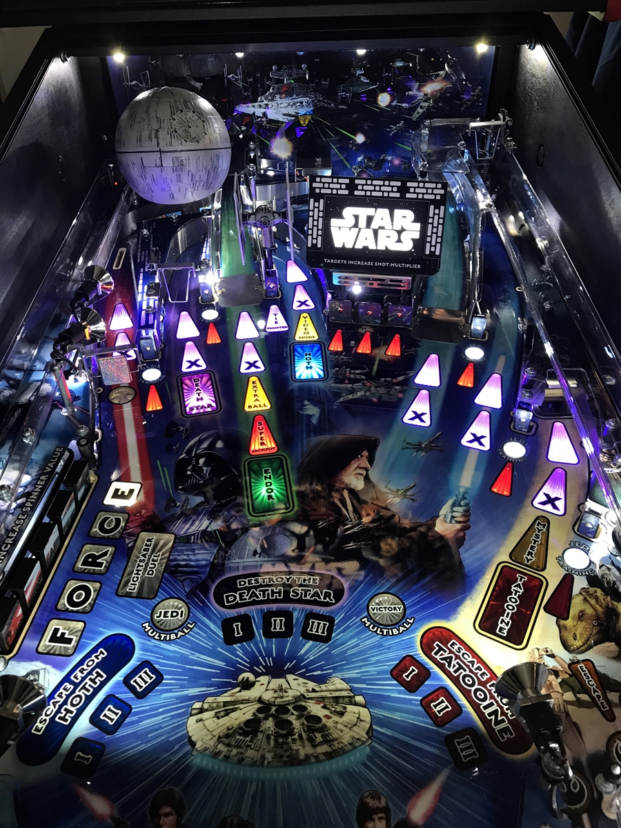 Star Wars Pinball Machine >> Lcd Space Armor Mod For Stern S Star Wars Pinball