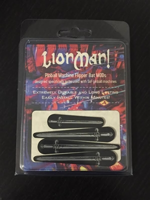 LionMan! - Pinball Flipper Bat Topper MOD (set of 4)