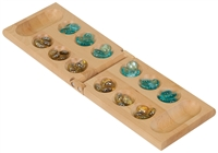 Personalized Mancala Set (comes with marbles)