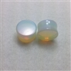 Pair of Natural Opalite Stone Saddle Plugs