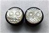 "Pair of Handmade ""Owl Head"" Carved Organic Plugs"