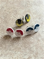 Pokeball Unisex Earrings