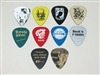 Twenty-five (25) Brand New Custom Personalized Engraved Guitar Picks