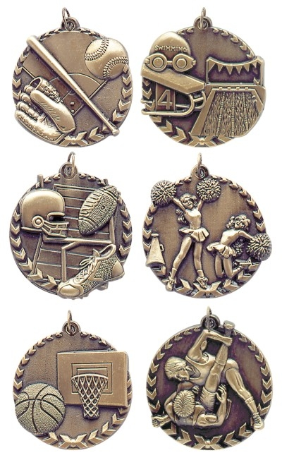 1 3/4 inch Millennium Medal (comes with neck ribbons)