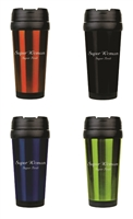 Super Woman, Super Tired 16 oz. Travel Mug