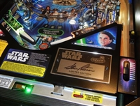 Signature Plastic Protector for Stern's Star Wars LE pinball machine