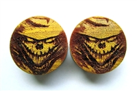 "Pair of ""Scarecrow"" Organic Plugs"